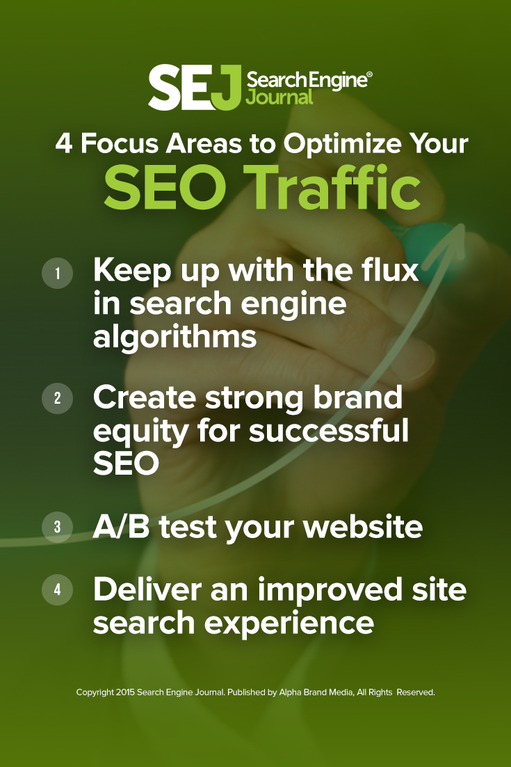 4 Focus Areas to Optimize Your SEO Traffic