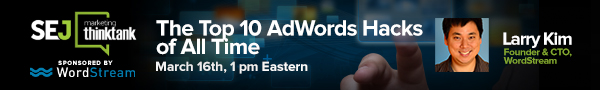 The Top 10 AdWords Hacks of all time
