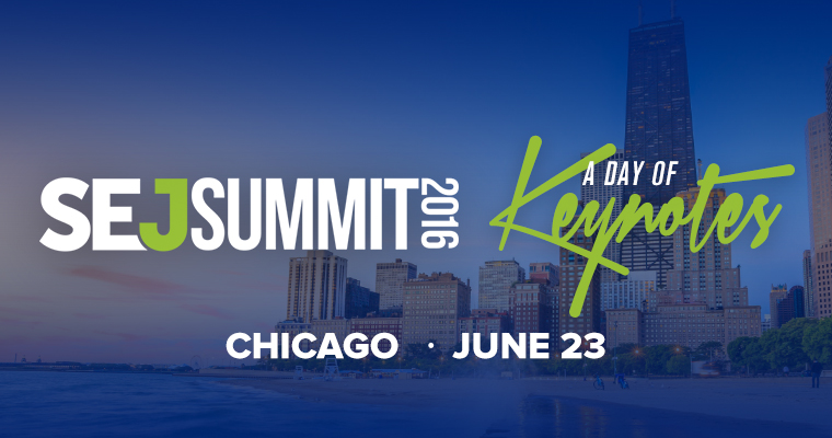 Here's the Agenda for #SEJSummit Chicago