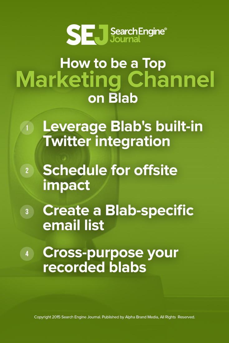 How to be a Top Marketing Channel on Blab