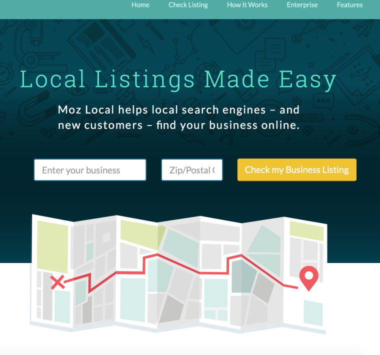 Moz Local Screenshot