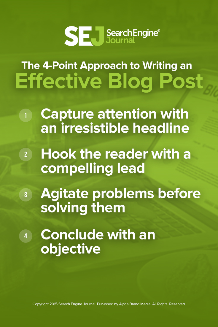 The 4-Point Approach to Writing an Effective Blog Post
