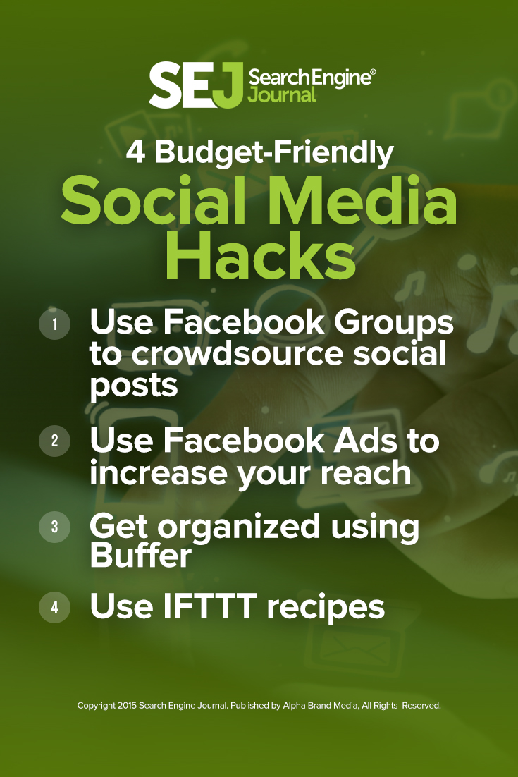 4 Budget-Friendly Social Media Hacks