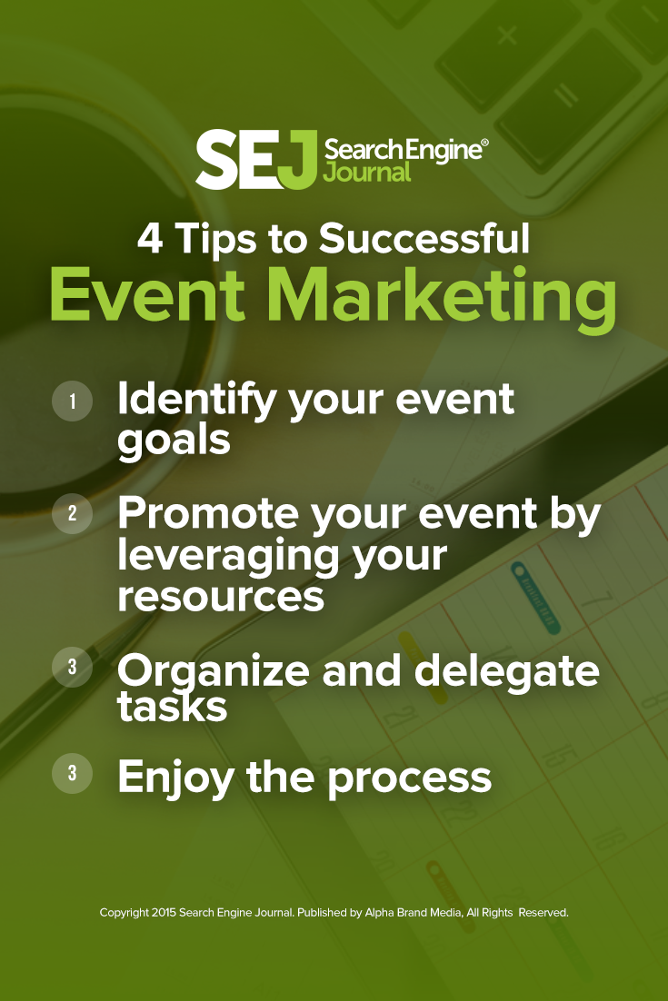 4 Tips to Successful Event Marketing