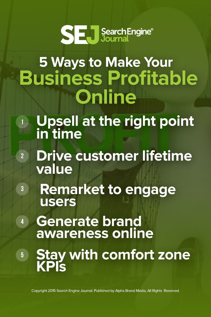 5 Ways to Make Your Business Profitable Online
