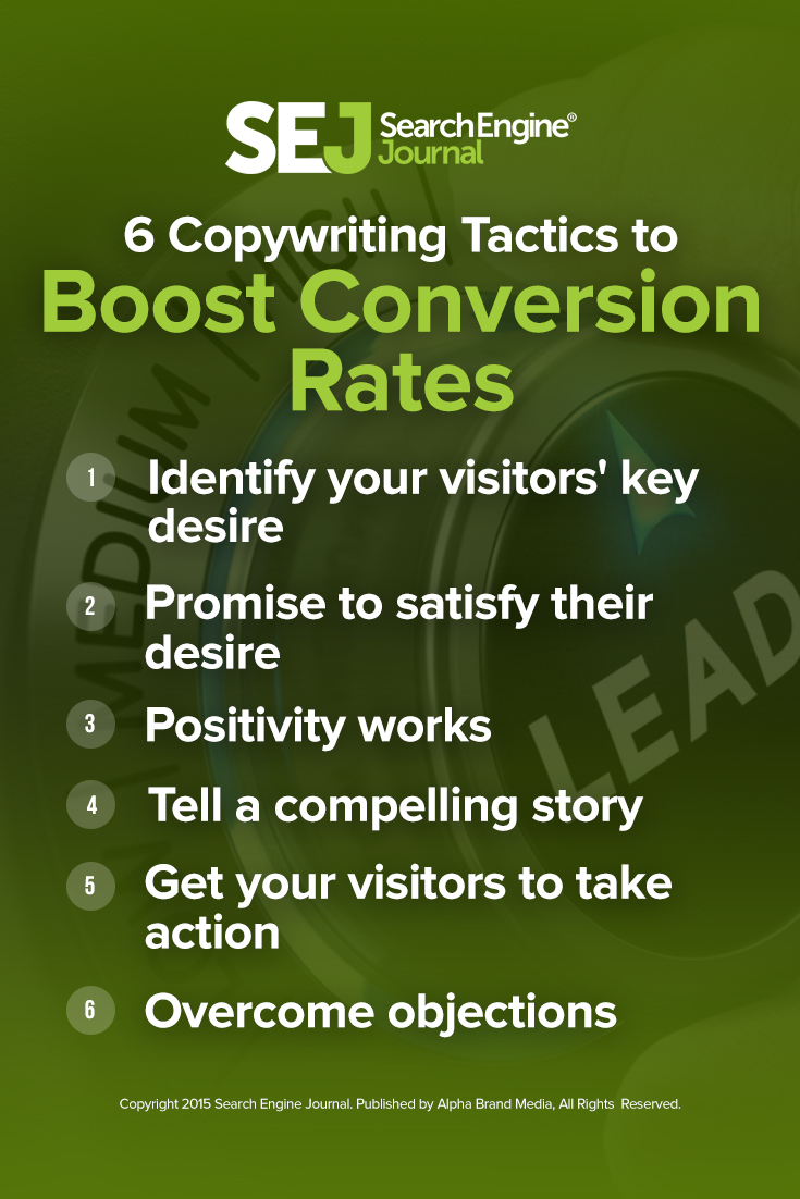6 Copywriting Tactics to Boost Conversion Rates