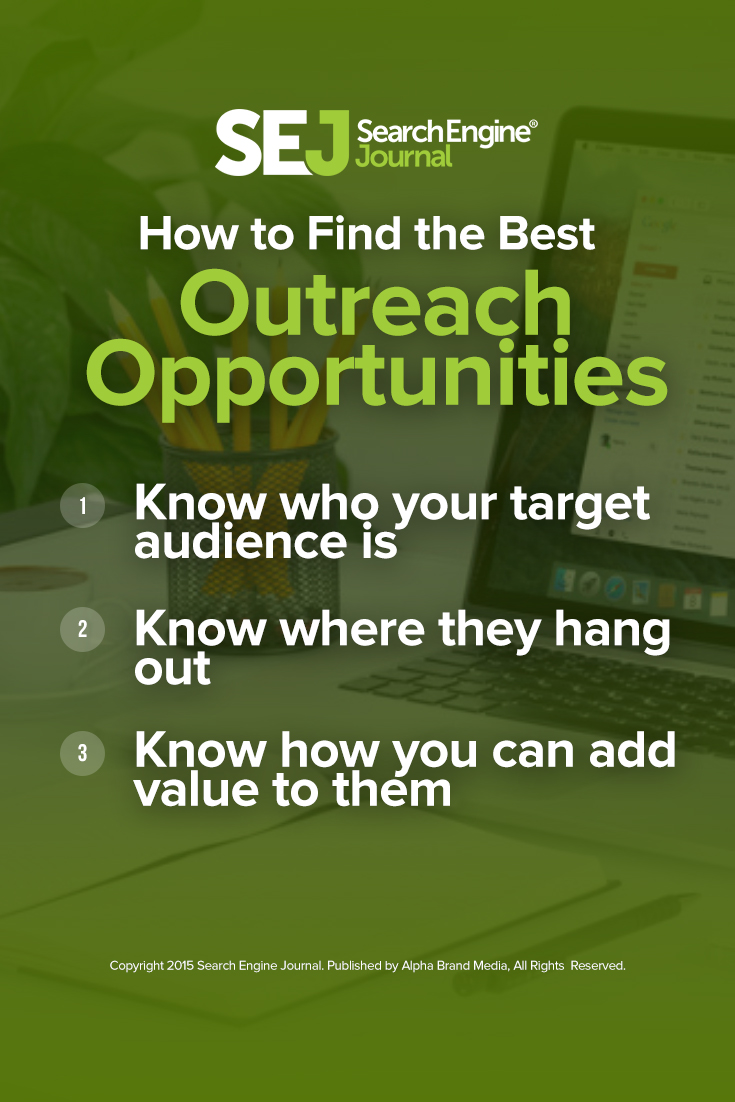 How to Find the Best Outreach Opportunities