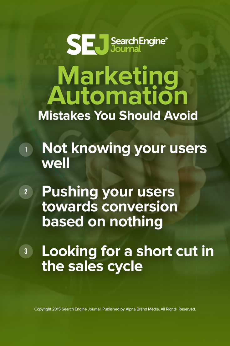 Marketing Automation Mistakes You Should Avoid