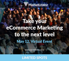 Announcing EcommDay 2016: The Virtual E-commerce Conference for Online Marketers [May 12th]