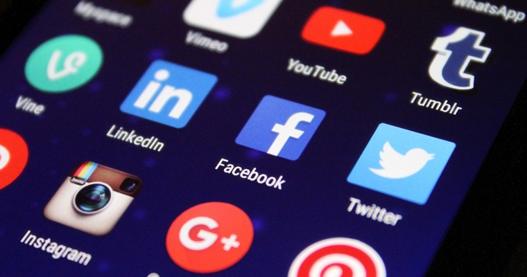 How the Law of Double-Peak Affects Social Media