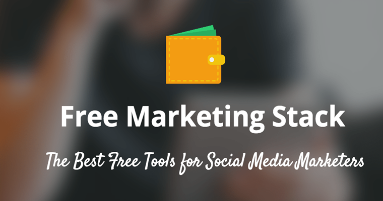 The $0 Marketing Stack: 41 Free Services and Tools