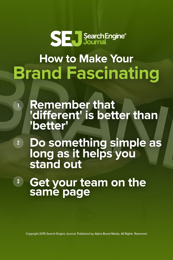 How to Make Your Brand Fascinating
