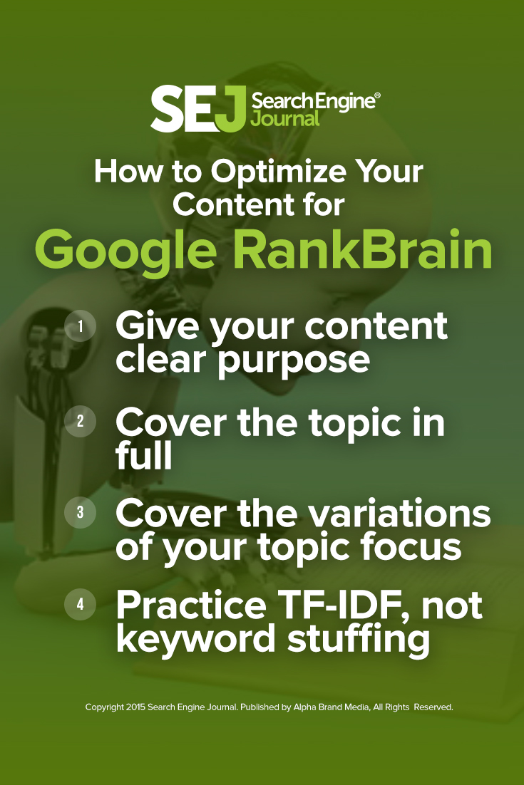 How to Optimize Your Content for Google RankBrain