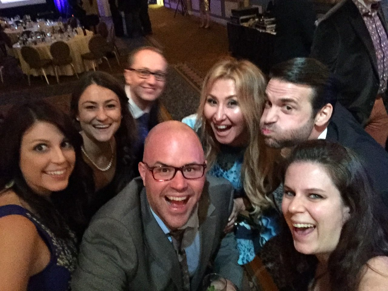 US Search awards selfie