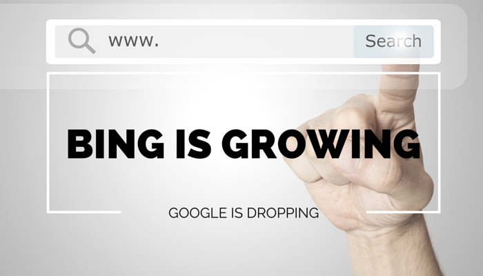 Bing's Share of the Search Market is Growing Faster than Google's