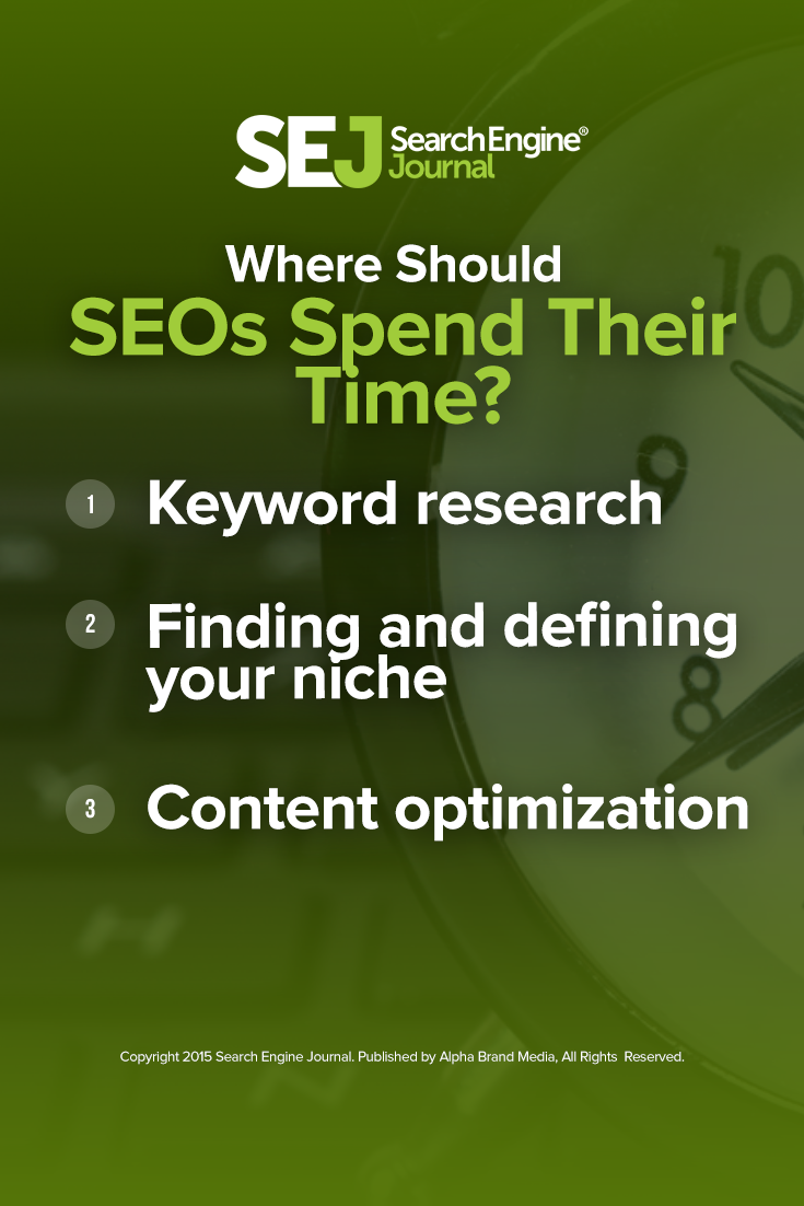 Where Should SEOs Spend Their Time