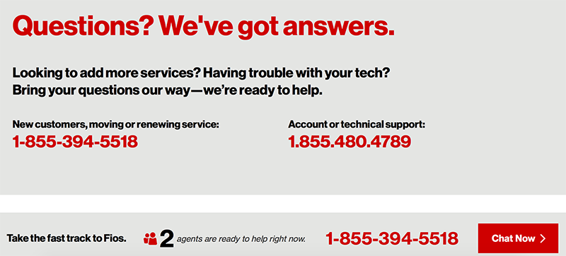 Verizon CTA