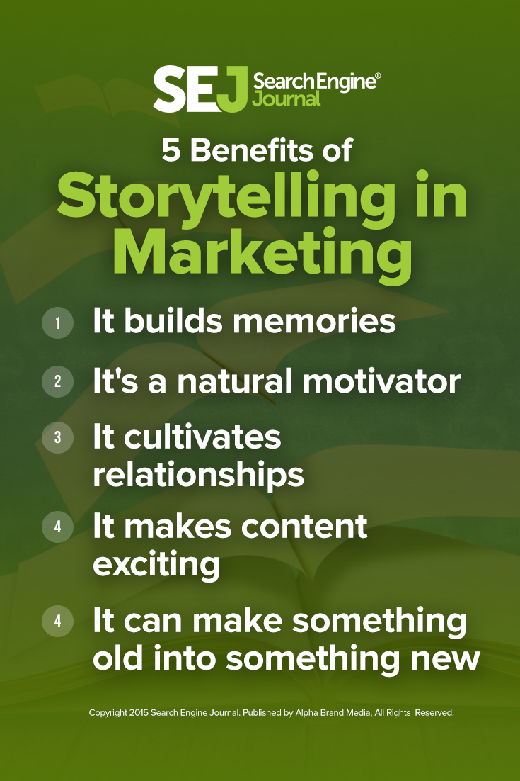 5 Benefits of Storytelling in Marketing