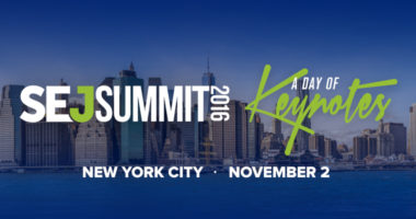 #SEJSummit New York