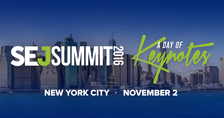 Announcing #SEJSummit NYC Speakers & Panelists