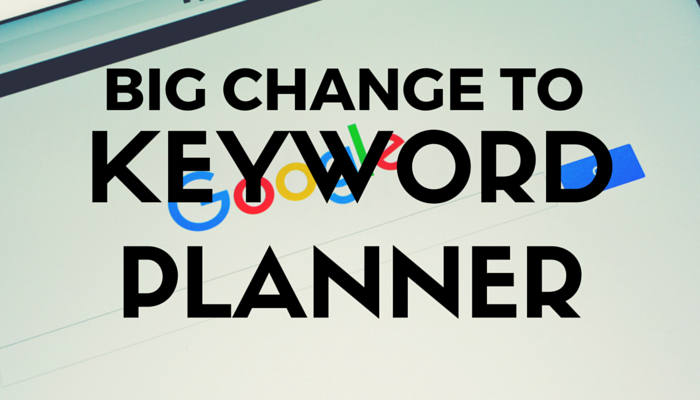 Big Change to Keyword Planner: Google Restricts Access to Those With AdWords Accounts