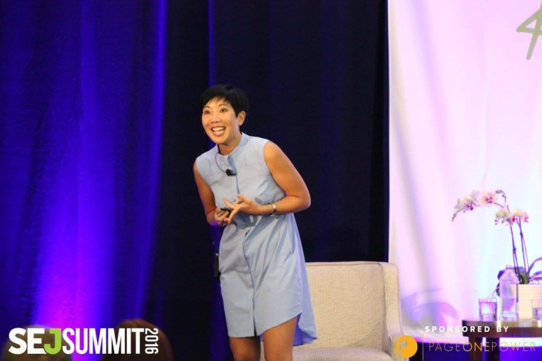 Googler Maile Ohye at SEJ Summit Santa Monica