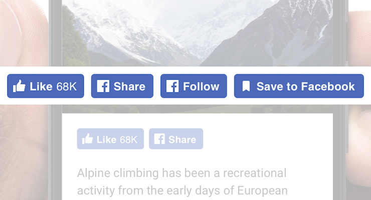 Facebook Redesigns Like Button