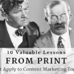 lessons from print for content marketing