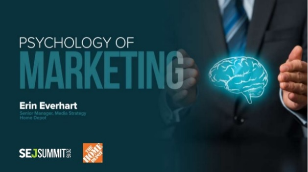Erin Everhart of Home Depot #SEJSummit: The Psychology of Marketing