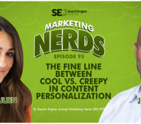 Jim Dicso on The Fine Line Between Cool vs. Creepy Content Personalization