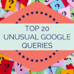 TOP 20 UNUSUAL GOOGLEQUERIES