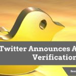 Twitter Announces Account Verification Form