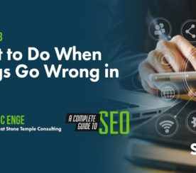What to Do When Things Go Wrong in SEO