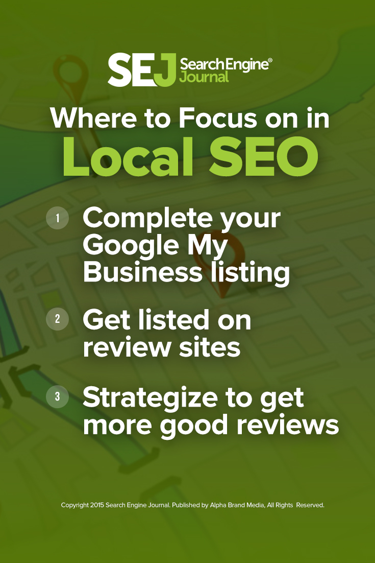 Where to Focus on in Local SEO