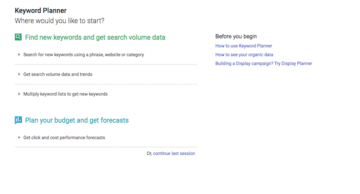 10 Keyword Tools You Need to Know