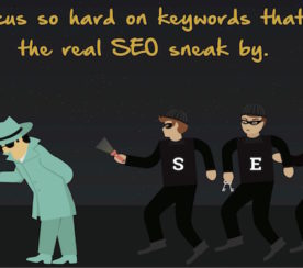If You're Only Focused on Keywords, Here's Why You're Thinking Wrong