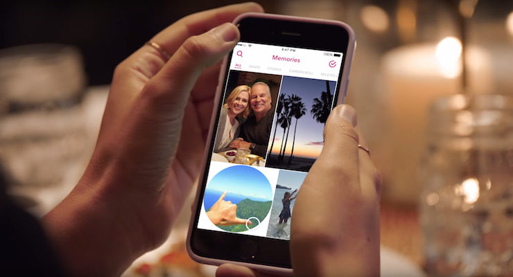 Snapchat Memories Lets Users Save & Search Snaps