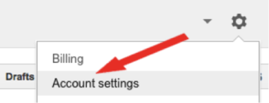 Enable auto tagging by selecting account settings