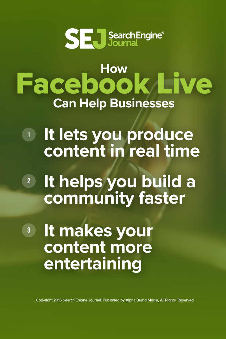 How Facebook Live Can Help Business