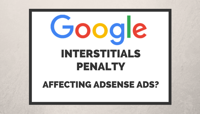 Google's Interstitials Penalty to Affect AdSense Page-level Ads?