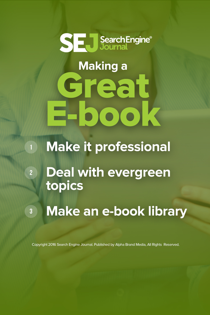 Making a Great E-book