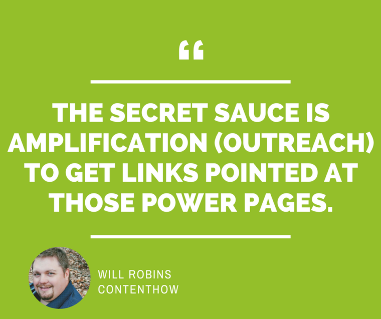 Will Robins Contenthow SEO Quote
