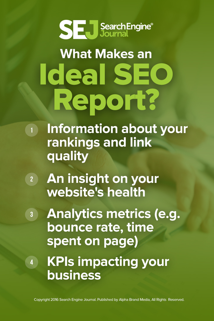 What Makes an Ideal SEO Report