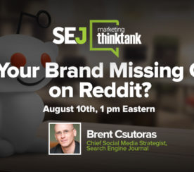 #SEJThinkTank Recap: Advertising on Reddit