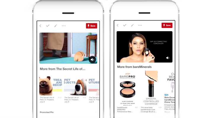 Pinterest Debuts Promoted Video Ads