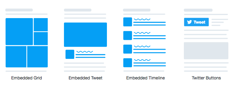 Ttwitter embed options