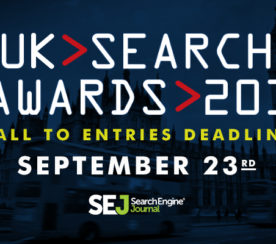 UK Search Awards 2016: Last Call for Entries!