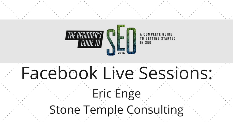 SEJ Live: Eric Enge on How to Handle Penalties and Other SEO Problems