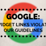google widget links