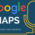 google maps voice search